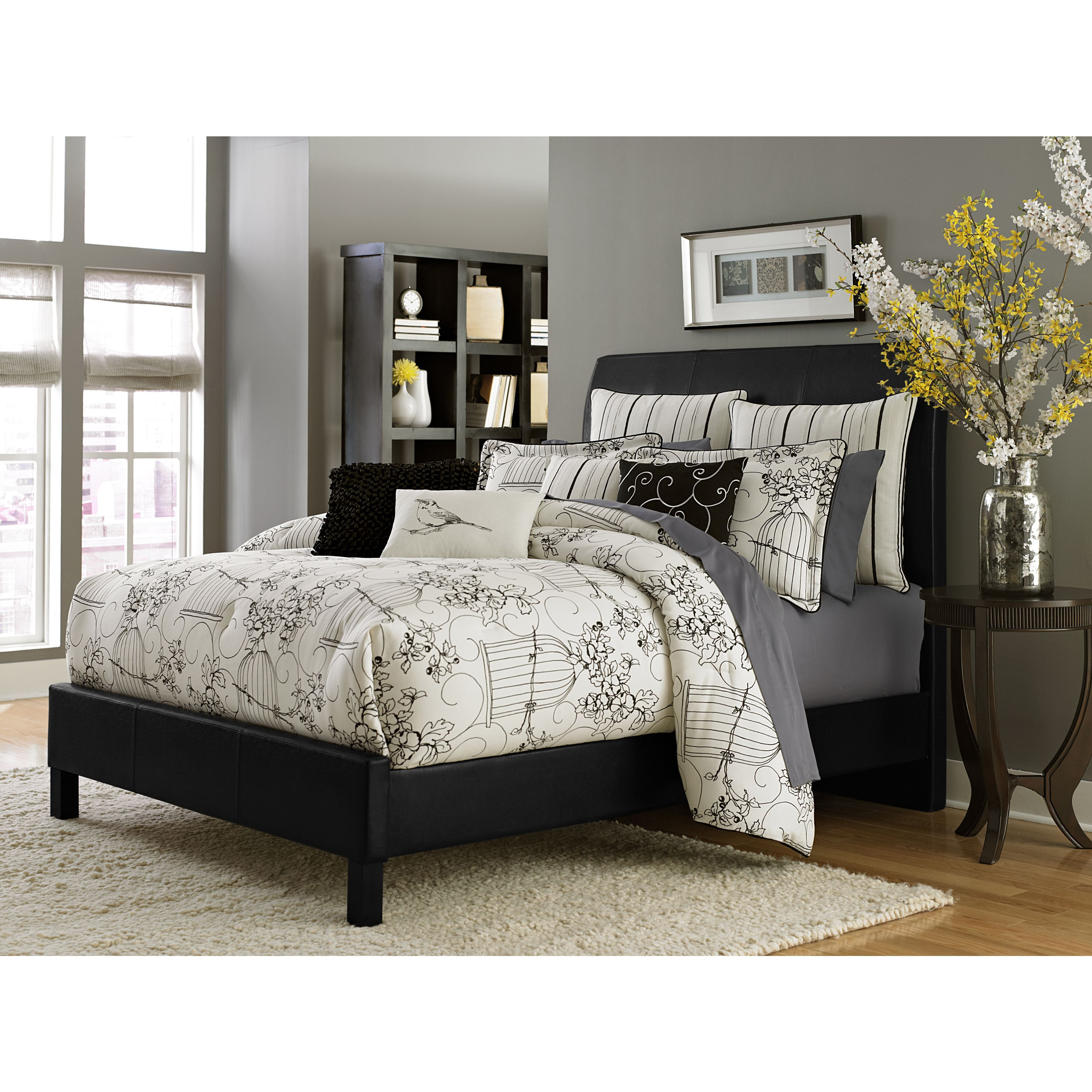 amini frost page loft items bedding a sets nightstand by furniture to bedroom collection upholstered enlarge michael click bed