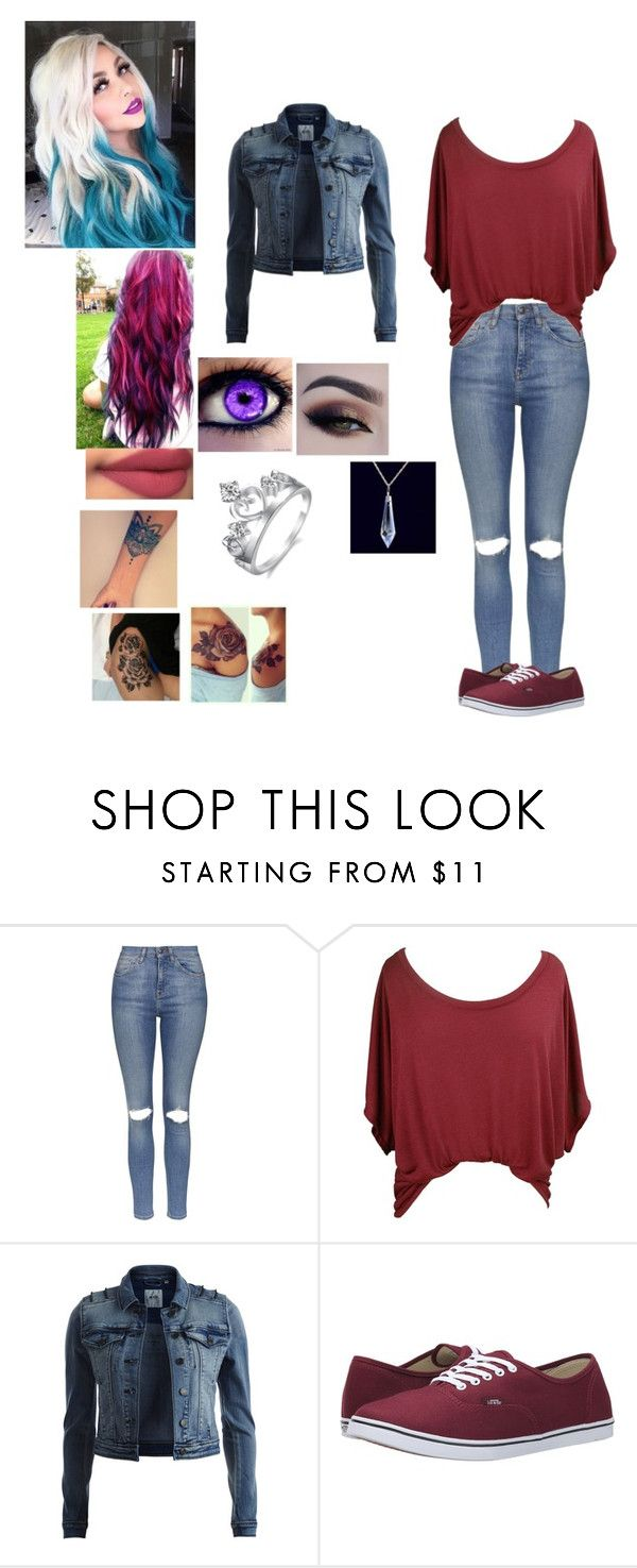 """Rosabelle Hearts"" by septicplier-mangle ❤ liked on Polyvore featuring Topshop, Object Collectors Item and Vans"