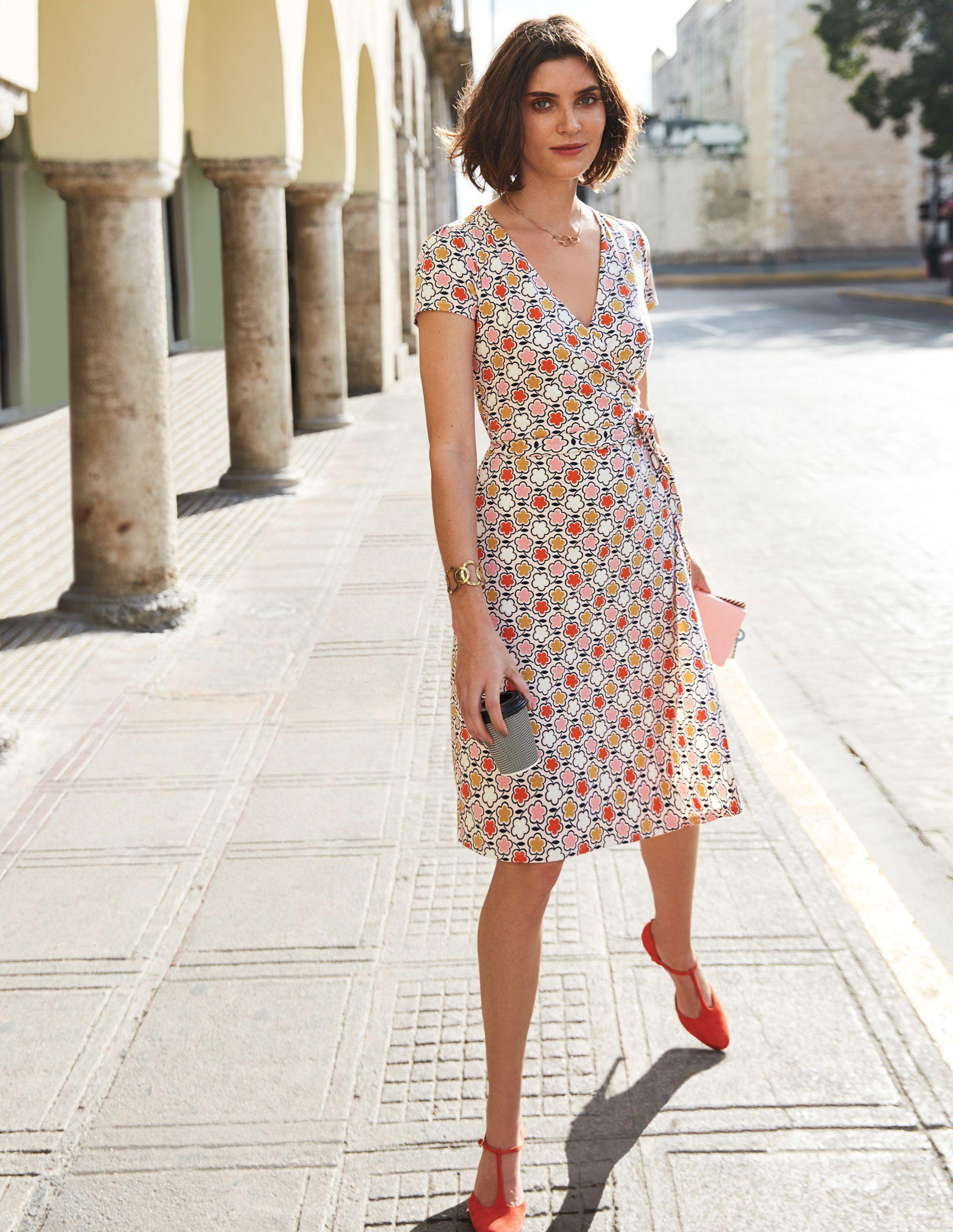 Summer Wrap Dress J0183 Smart Day At Boden Fashion Womens Dresses Nice Dresses