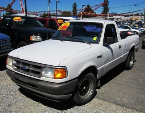 Low Mileage Cheap Ford Ranger Xl 94 For Sale In Washington
