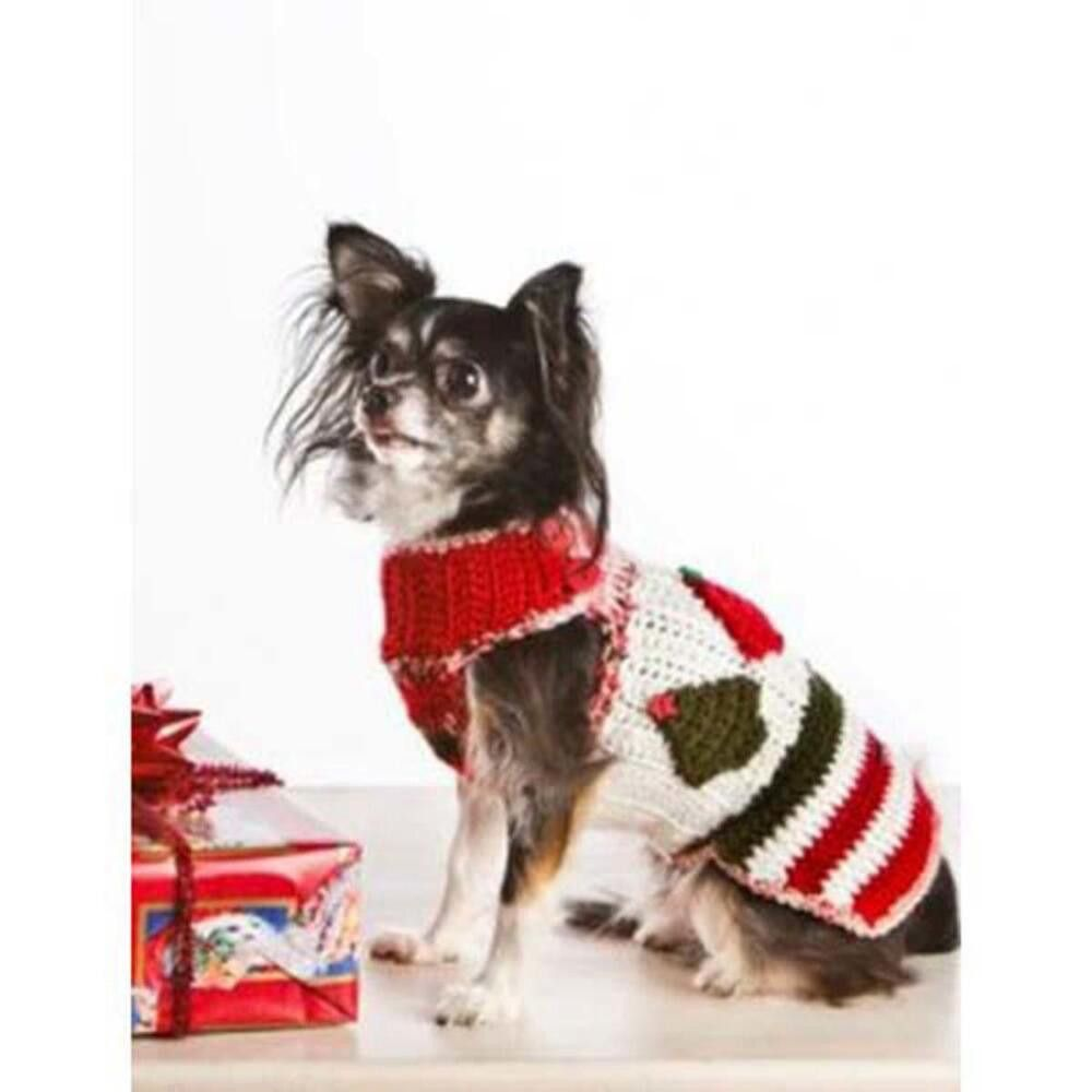 Deborah Norville Christmas Dog Sweater Crochet Pattern Free pdf ...