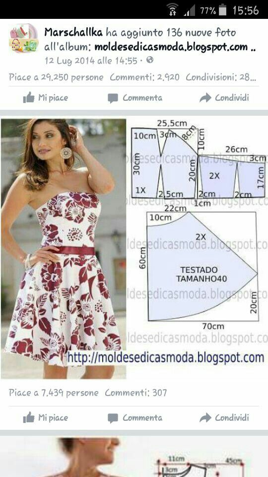 Pin by Nina Ricardi on Patrones De Costura | Pinterest | Sewing ...