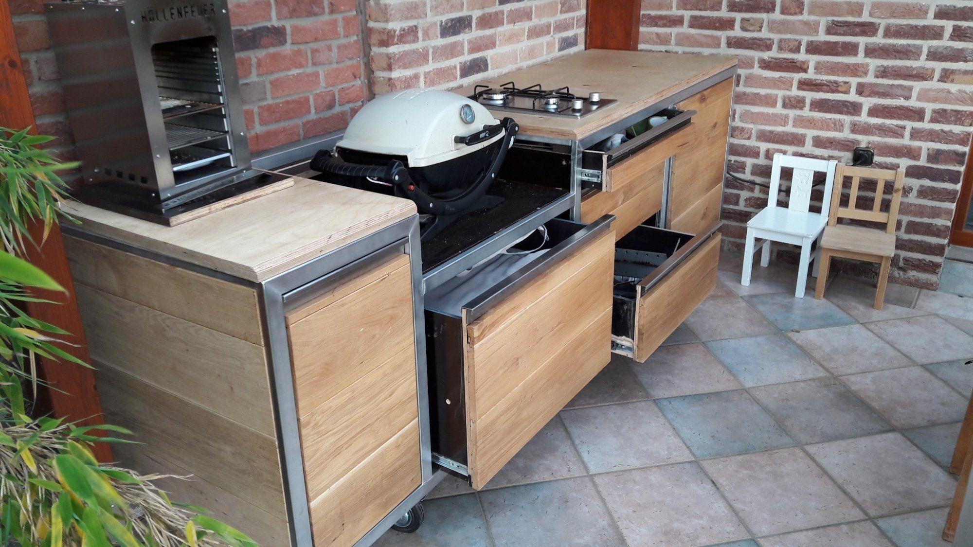 Sommerküche Edelstahl : G outdoorkitchen sommerküche