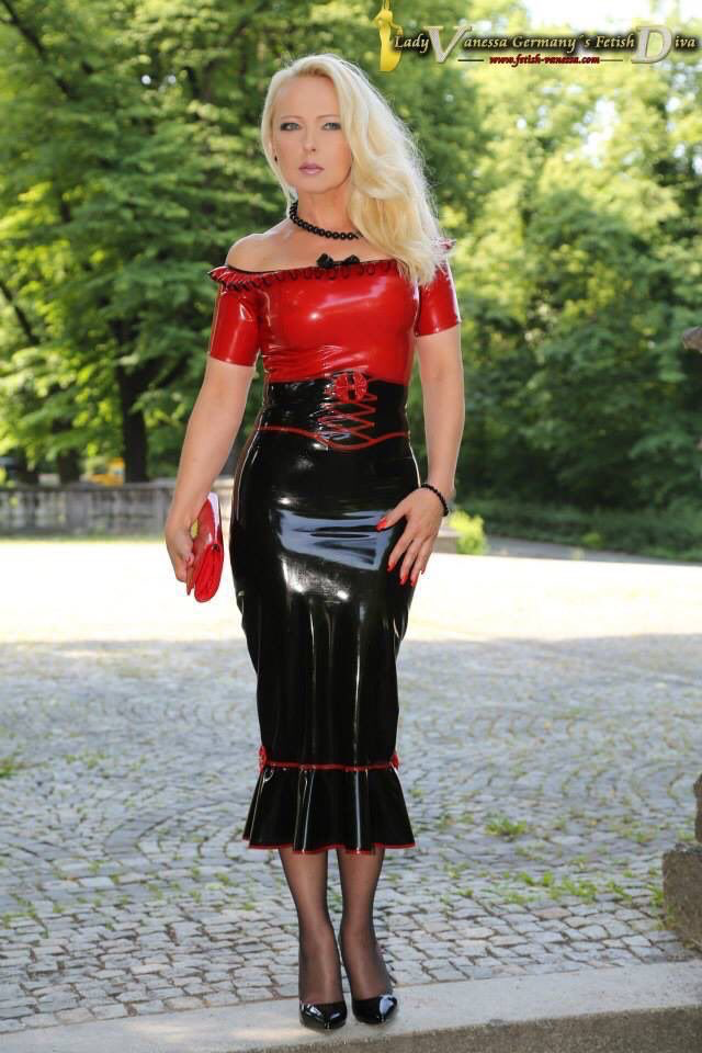 Pin on Latex and Leather
