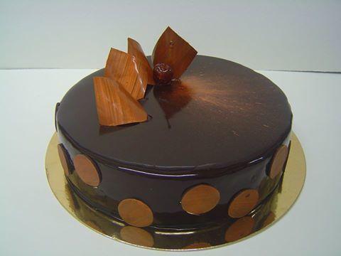 Recette d 39 entremet au chocolat gla age miroir parfait for Miroir des joyaux