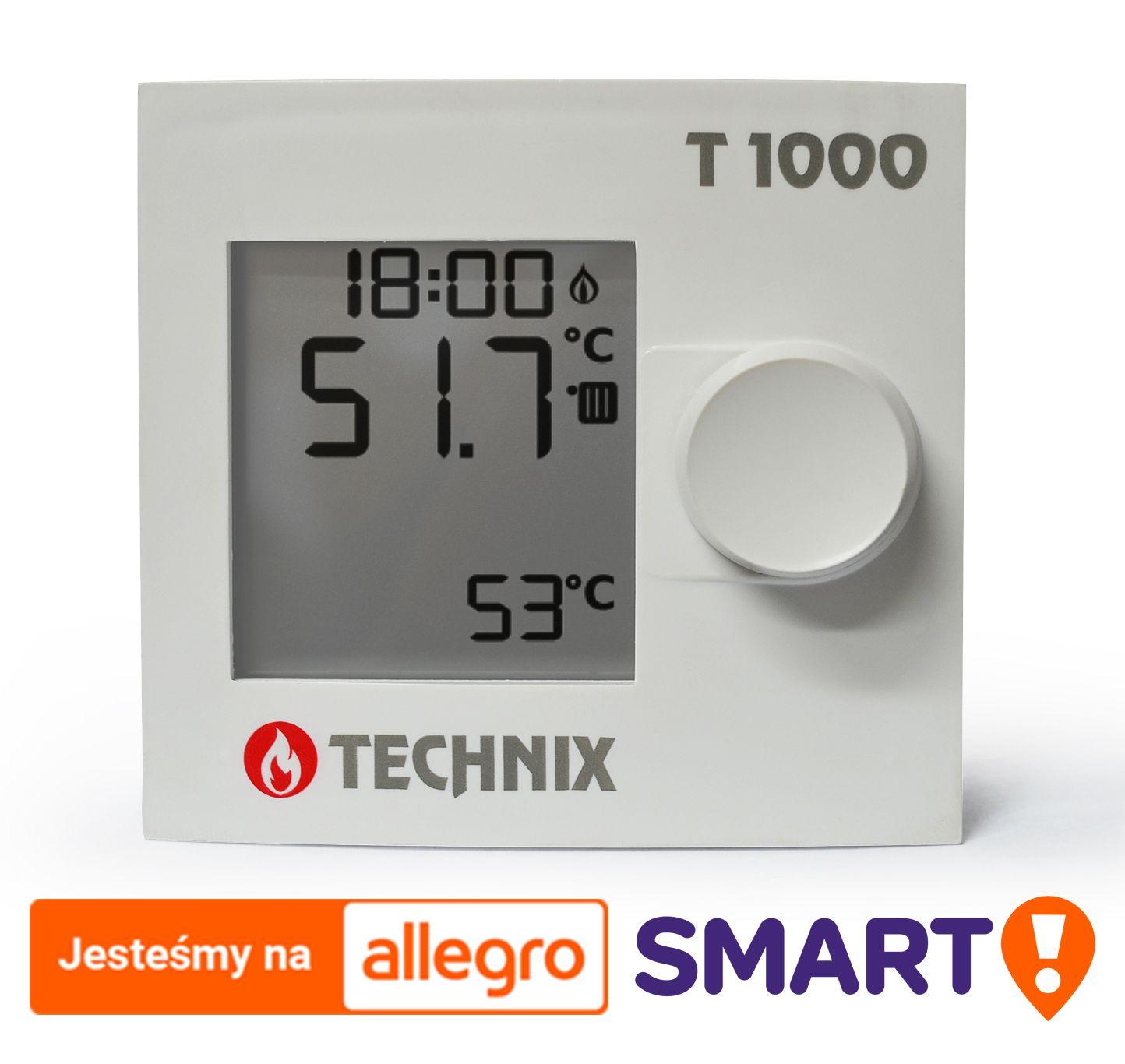 Termostat Pokojowy T1000 Technix Do Talos Eos 7791561693 Oficjalne Archiwum Allegro Timer Digital Alarm Clock Alarm Clock