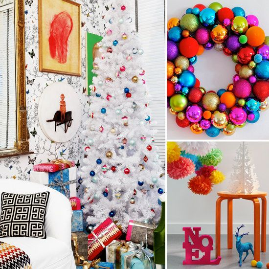 this site is perfect for non traditional christmas decorating