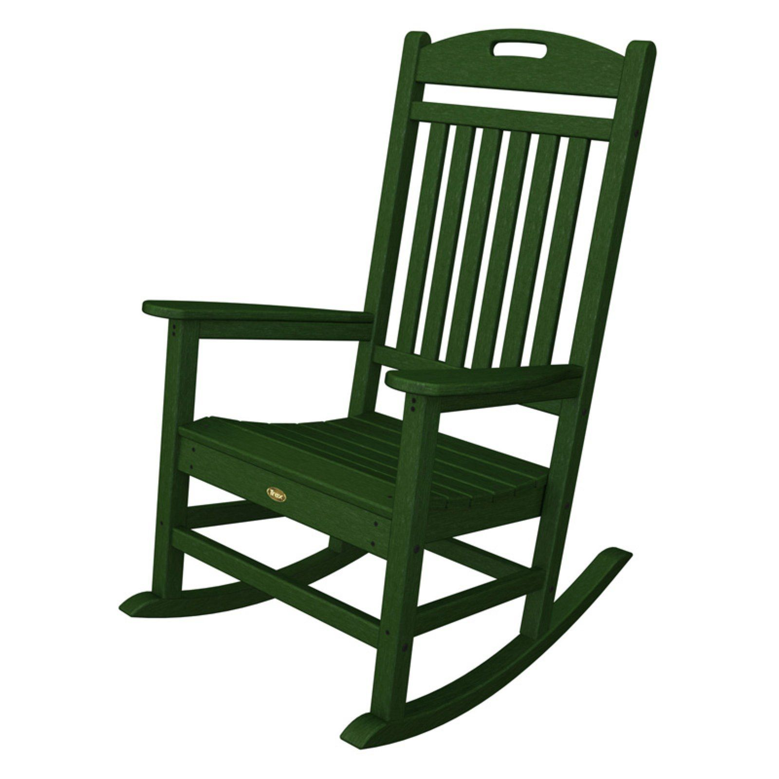 Terrific Trex Outdoor Furniture Recycled Plastic Yacht Club Rocking Pdpeps Interior Chair Design Pdpepsorg