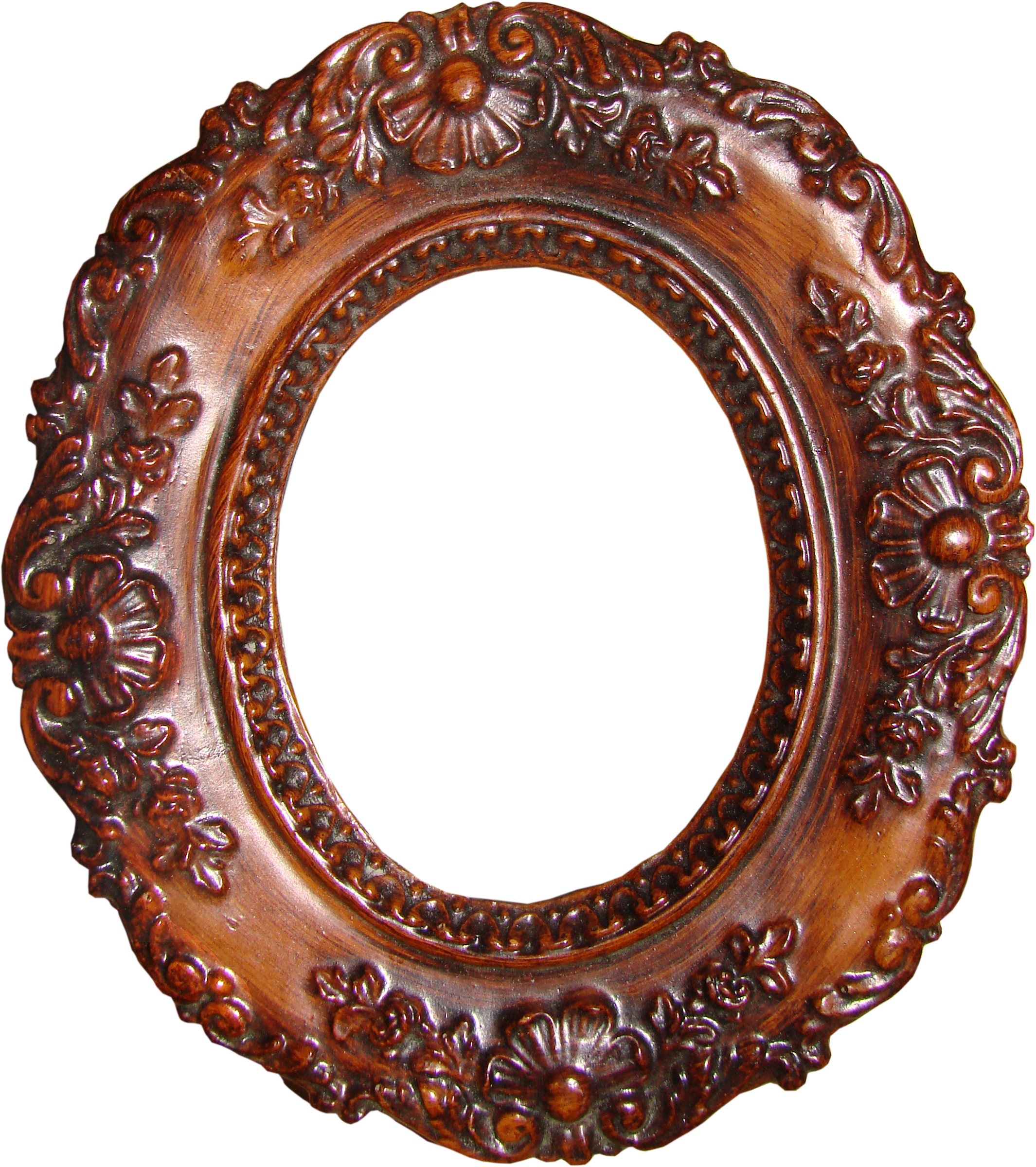 Once Upon A Memory Oval Frame Wooden Picture Frames And