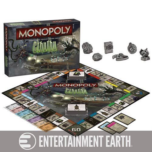 Cthulhu Collectors Edition Monopoly Game @ niftywarehouse.com #NiftyWarehouse #Zombie #Horror #Zombies #Halloween