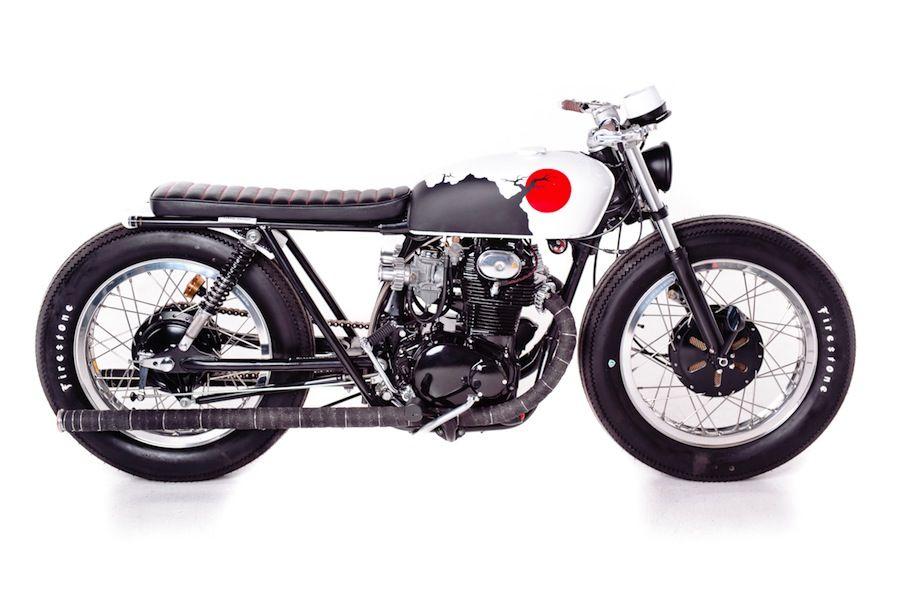 The Brat Cb350 By Garage Project Motorcycles Brat Bike Brat Motorcycle Brat Style