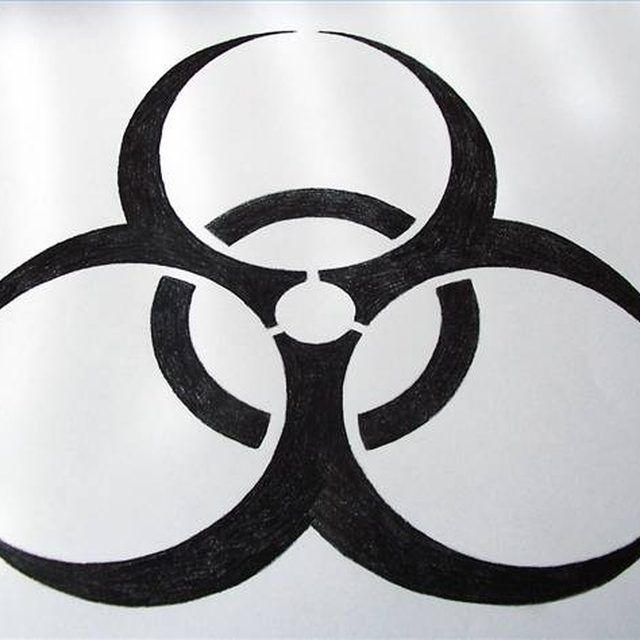 Draw The Biohazard Sign Crafts Pinterest