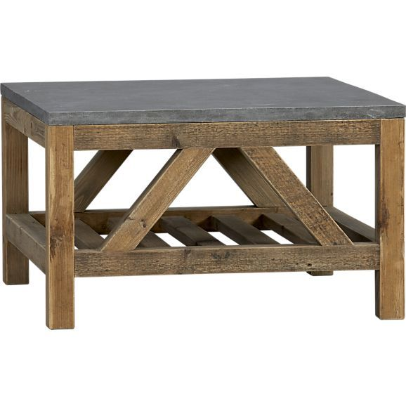 Bluestone Coffee Table in Accent Tables | Crate and Barrel
