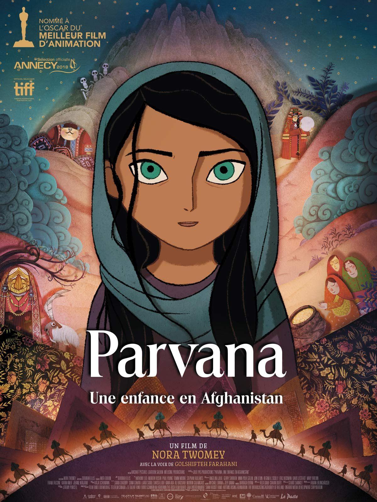 Parvana est un film réalisé par Nora Twomey avec la voix