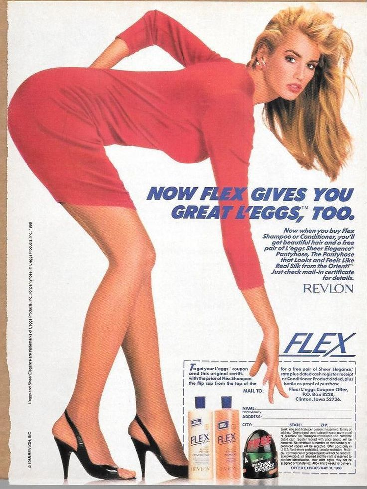 Leggs pantyhose commercials of 1974