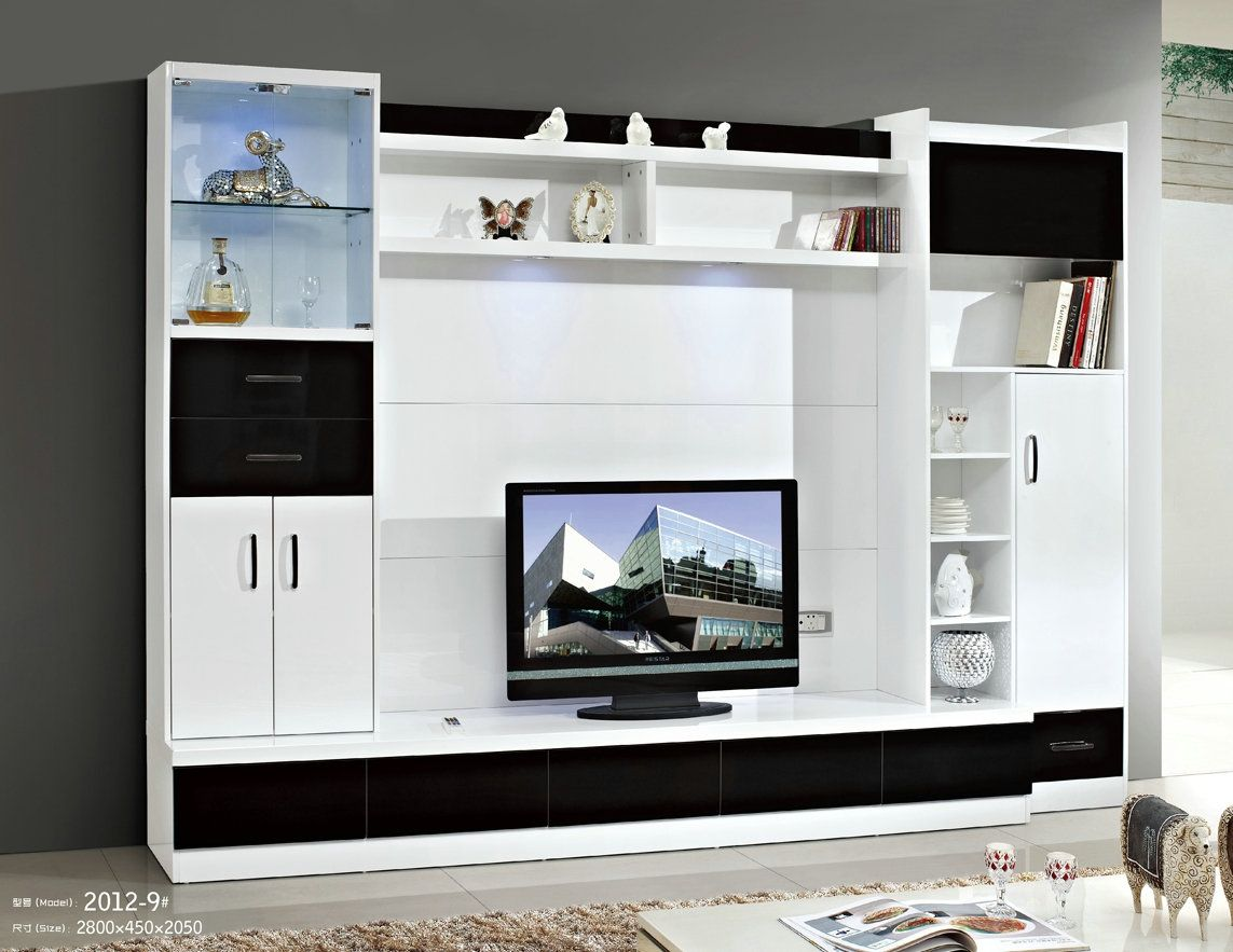 Lcd Tv Stand Designs Wooden : Lcd tv wall unit design catalogue my tv design in 2019 wall unit