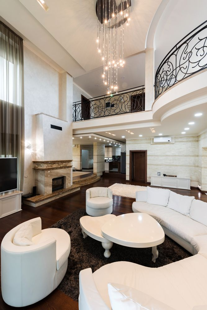 54 Living Rooms With Soaring 2 Story Cathedral Ceilings Small Living Room Design Small Living Room Decor Furniture Design #u #shaped #living #room #layout