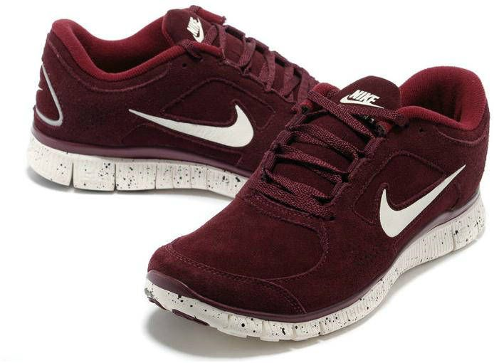 quality design cec3e 224e6 ... czech womens nike free run 3 leather wine red shoes florida state 7dc8b  dca3e