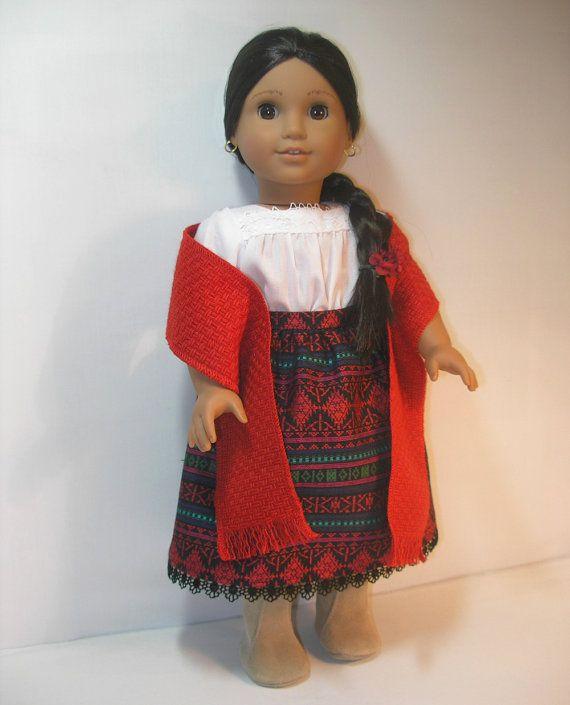 Josefina Birthday Dress: 18241076+American+Girl+18+Inch+Doll+Josefina+Skirt+by