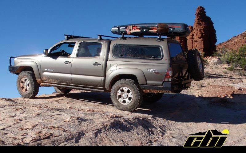 2nd Gen Tacoma With Cbi Offroad Rear Bumper And Swing Away Tire Carrier Toyota Tacoma Tacoma Carriers