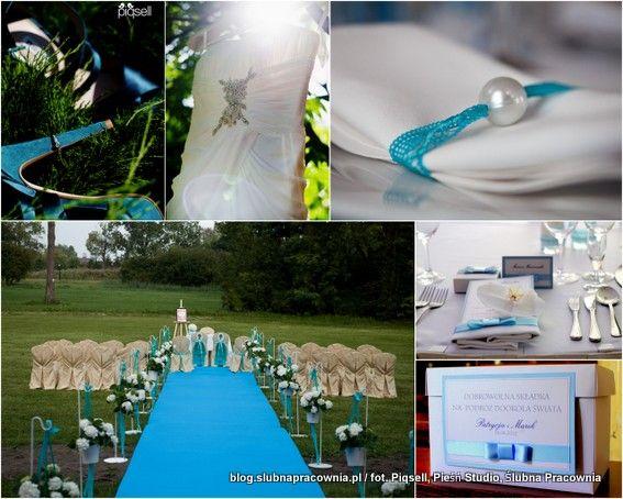 Wielki Blekit Cz 1 With Images Polish Wedding Wedding Table Decorations