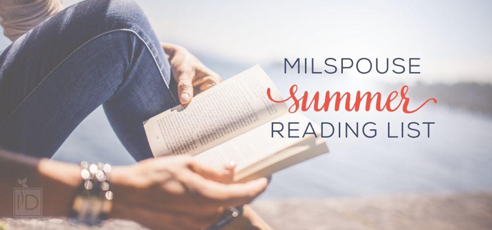 MilSpouse Summer Reading List