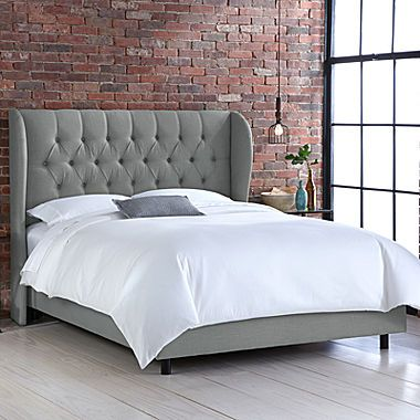 Buy Bristol Linen Tufted Wingback Bed today at jcpenneycom You deserve great deals and weve got them at jcp!