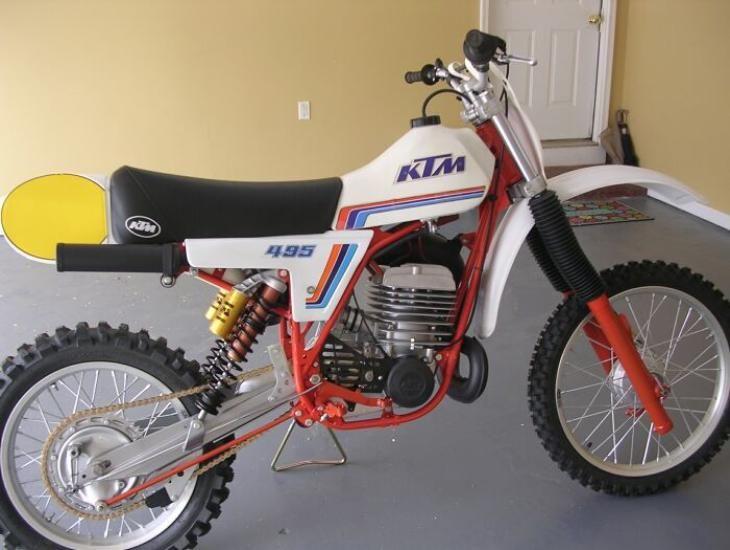 Classic Ktm Ktm Motocross Bikes Motorcycle Design