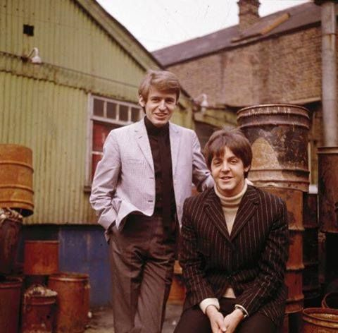 Paul and his brother Mike McGear