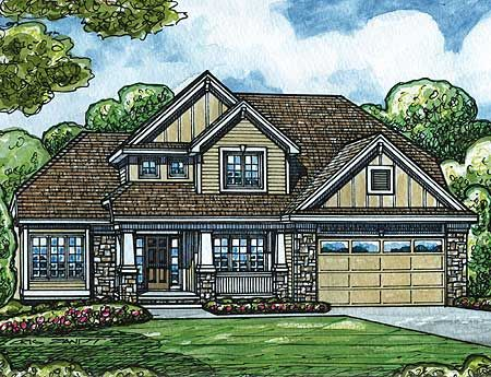 Plan 42295db craftsman home with first floor master for Craftsman house plans first floor master