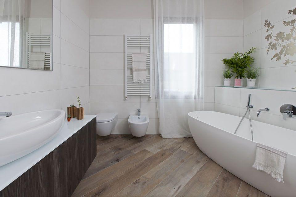 Foto di bagno in stile in stile moderno : mobili moderni fatti su ...