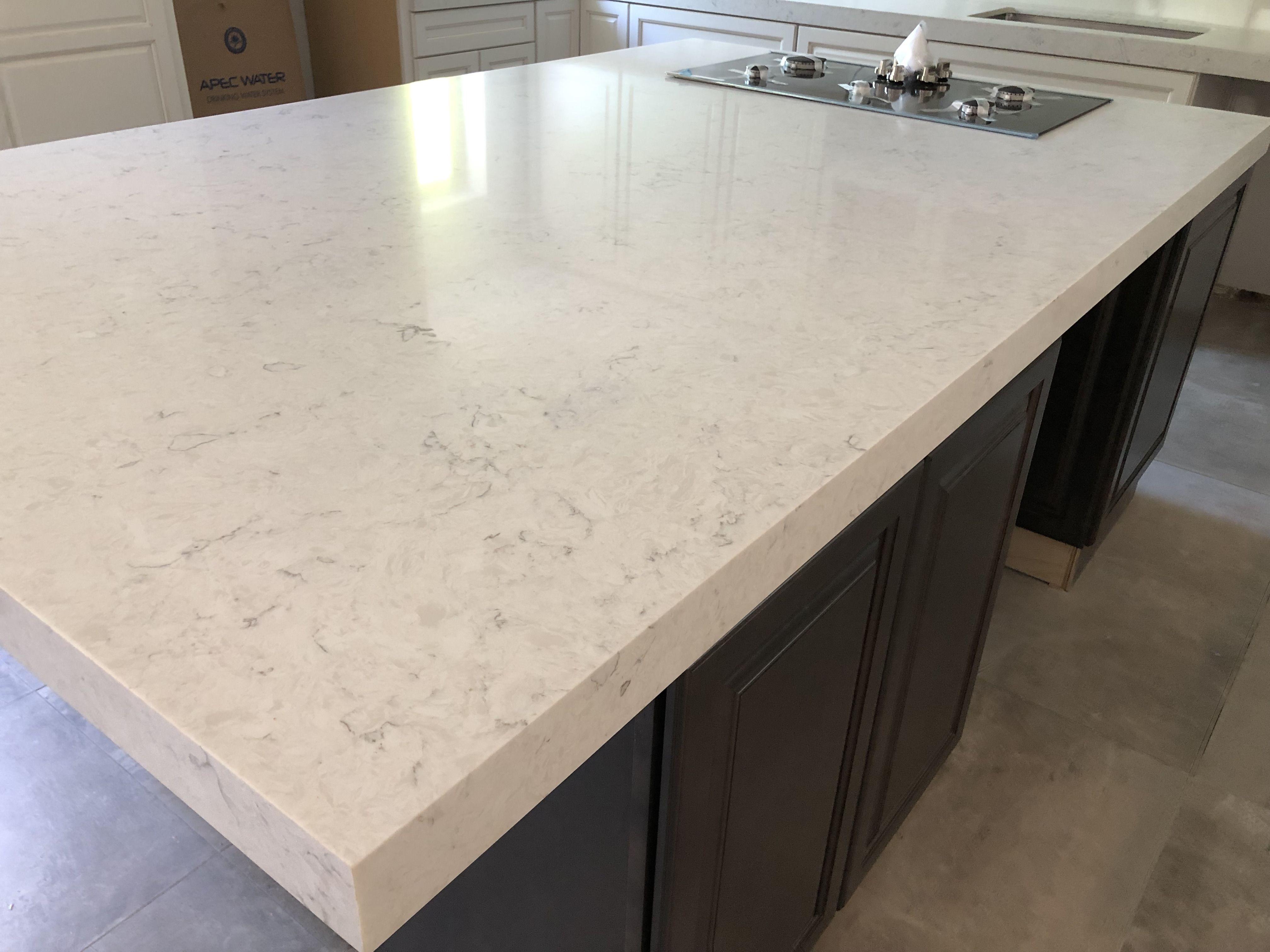 Carrara Mist Quartz Countertops Boca Raton Fl Quartz