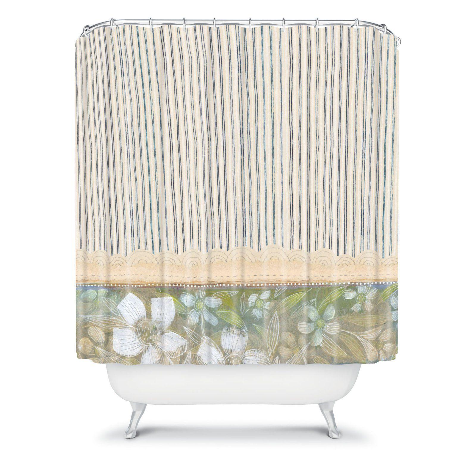 Deny Designs Cori Dantini Fl Shower Curtain Products