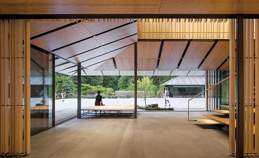 Portland Japanese Garden Cultural Village By Kengo Kuma Associates 2017 08 01 Architectural Record In 2020 Portland Japanese Garden Kengo Kuma Japanese Garden