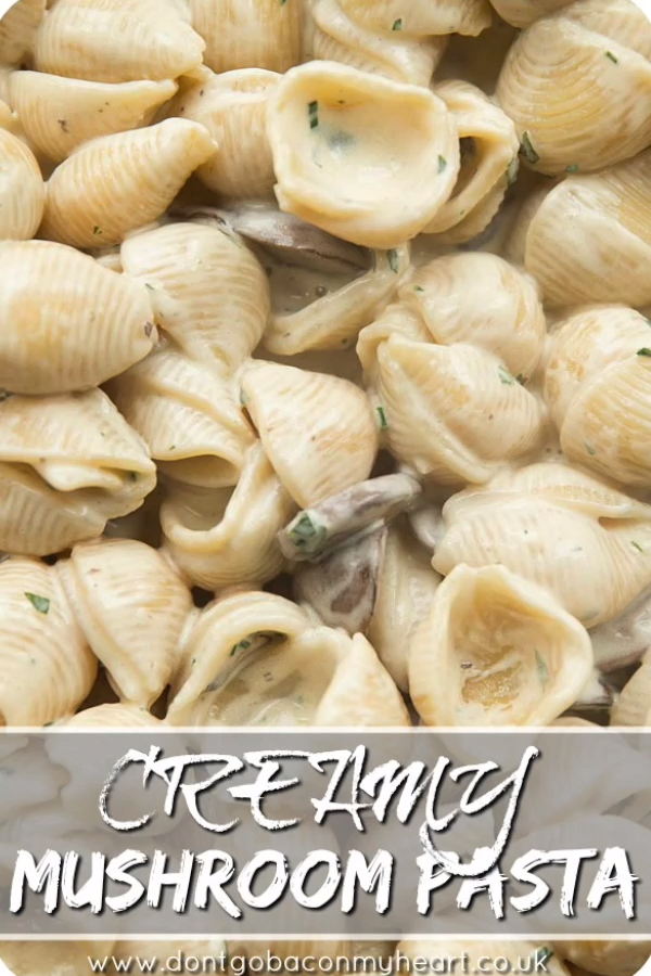 Dreamy Creamy Mushroom Pasta images