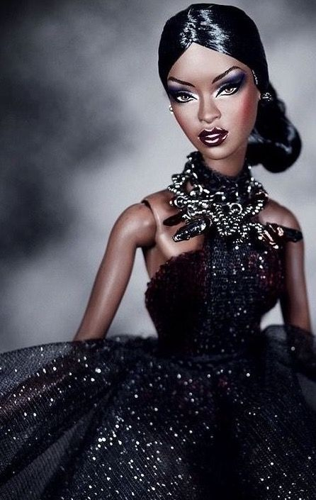 doll Beautiful black barbie