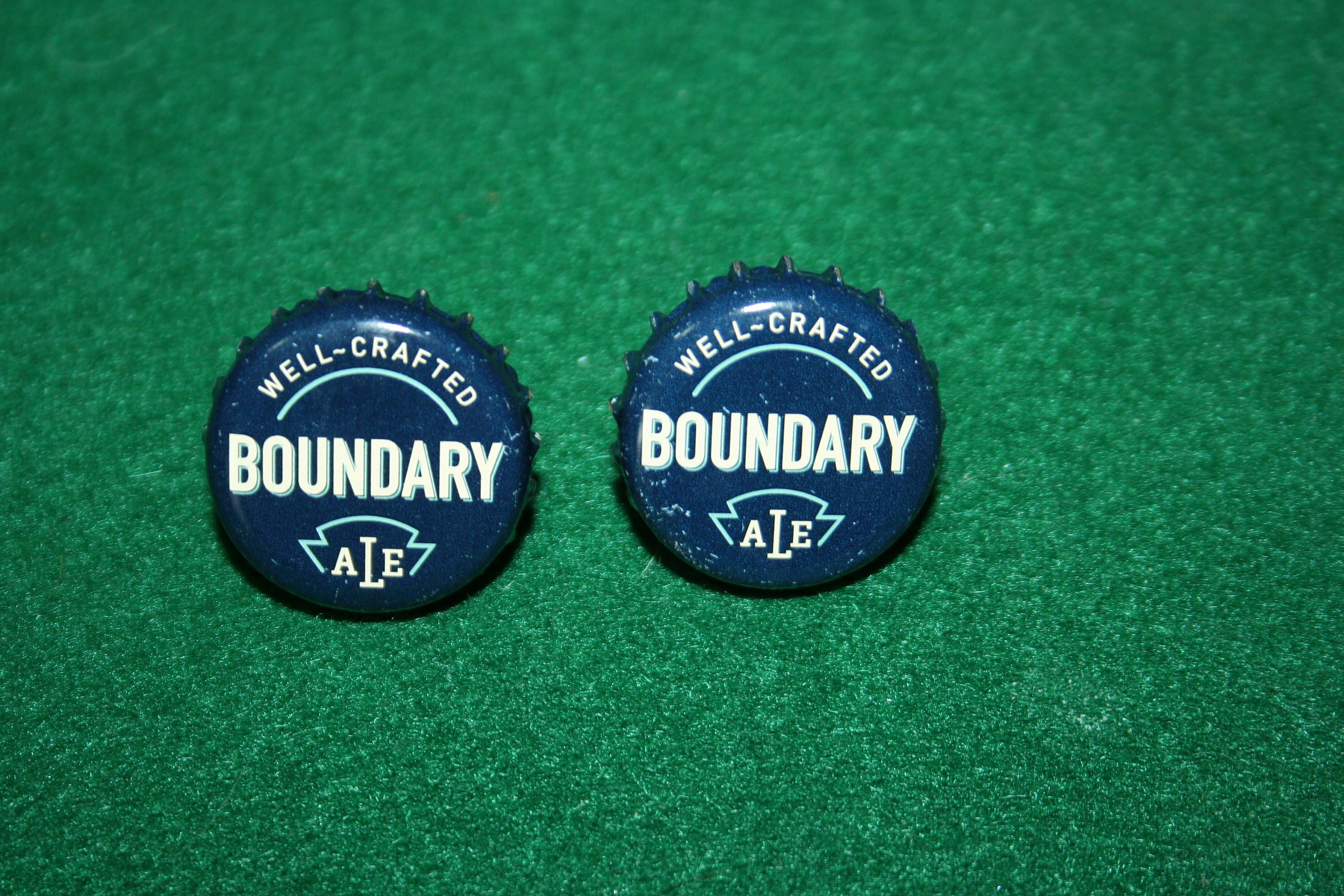 Handcrafted Cuff Links - Boundary Ale Beer Cap with 24 ct Gold Plated Posts by Witmer Enterprises, $15.00 at witmerenterprises.com and also @Etsy