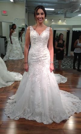 Allure Bridals 540 Size 8