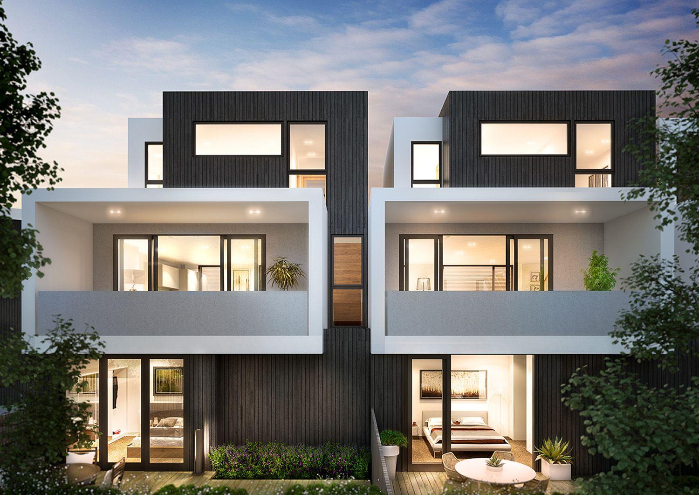Chamberlain Architects - Hemmingway Terrace Houses