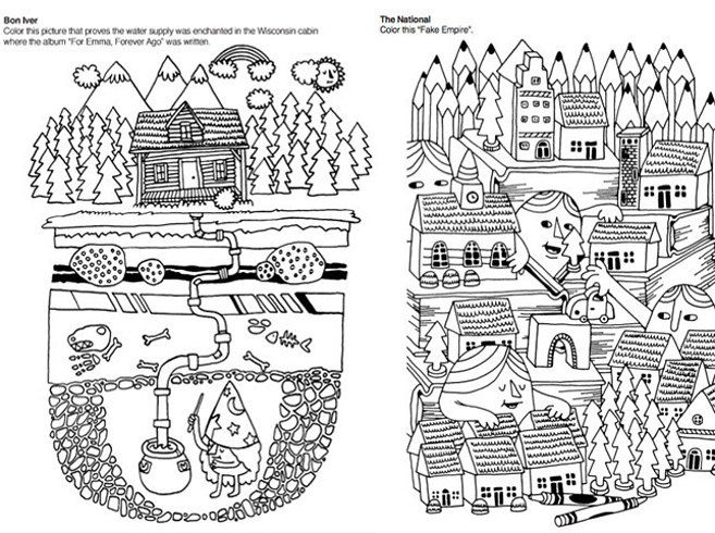 Indie Rock Coloring Book By Yellow Bird Project