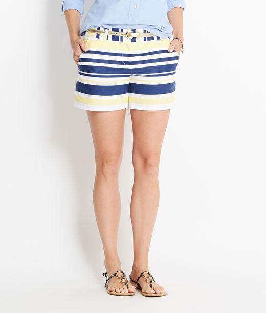 Shop Shorts: Multi Stripe Classic Shorts for Women   Vineyard Vines