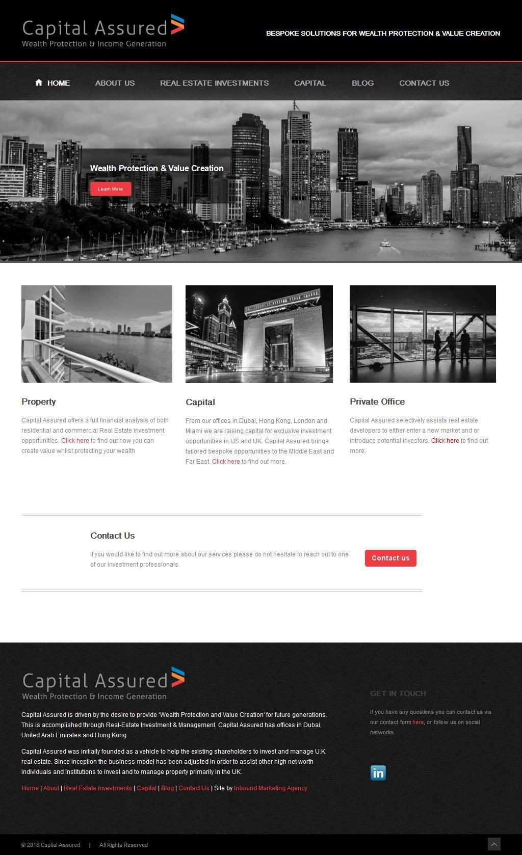 Capital Assured Company Boulevard Plaza Tower 1, 4b