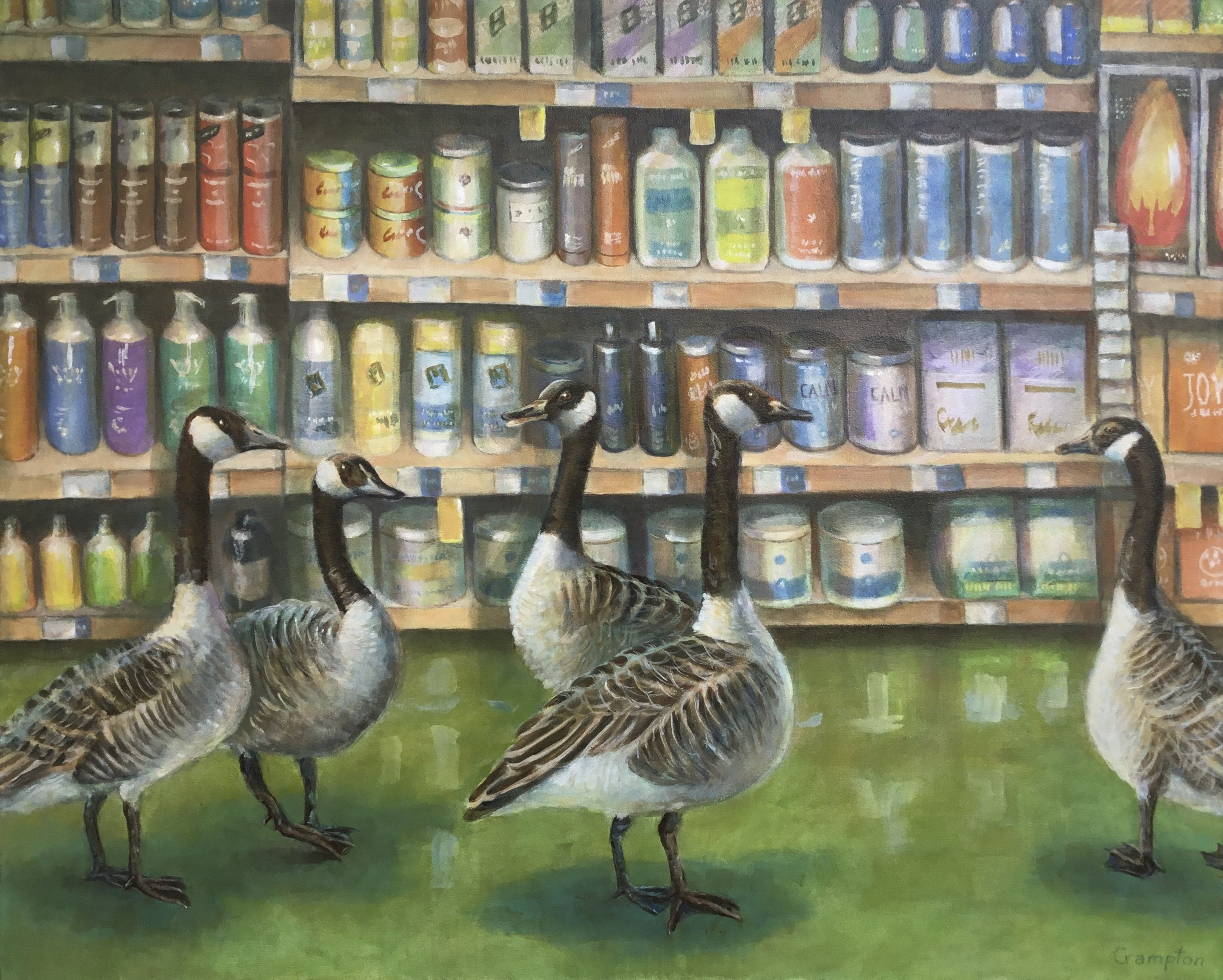 Geese at Whole Foods Green flooring, Whole food recipes