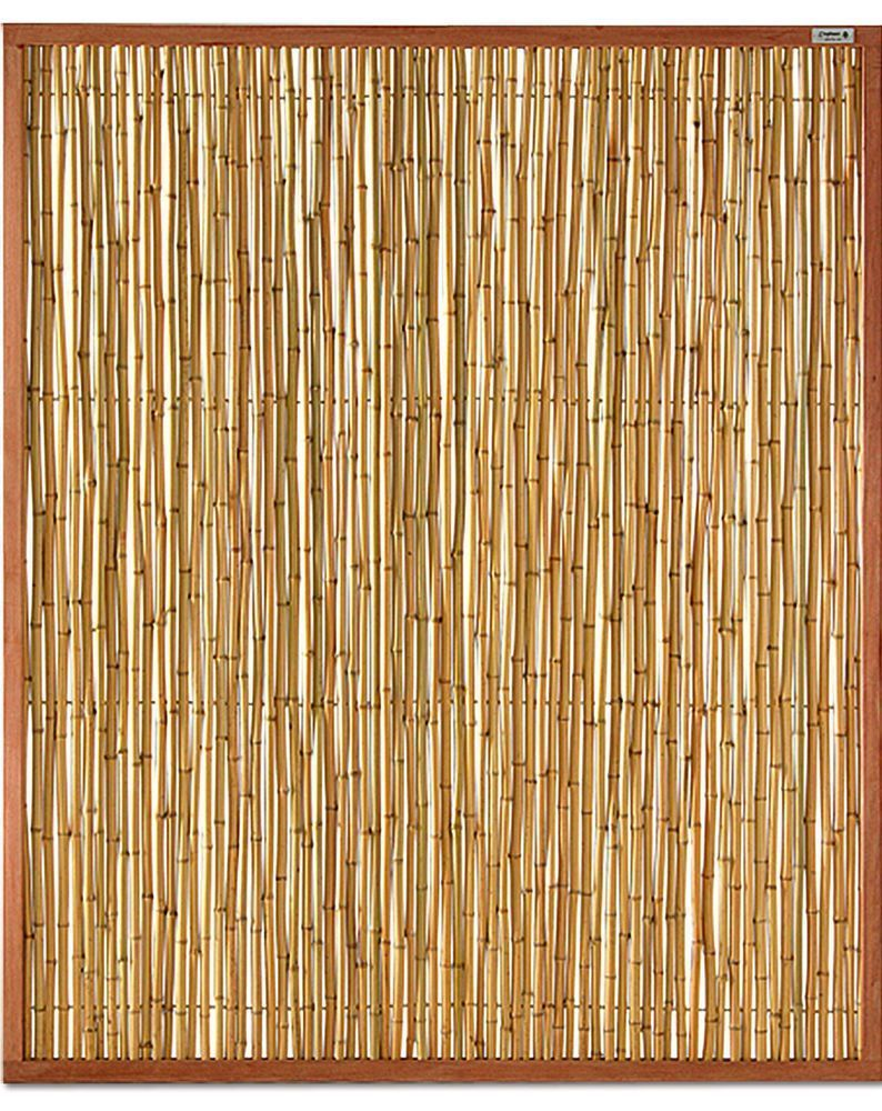 Bambus Sichtschutz Elemente Zaunelement 150 X 180 Cm Bausatz