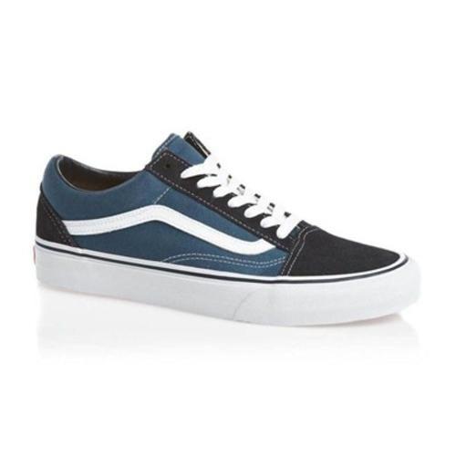 Da Uomo Vans Old Skool Sneaker Scarpe da ginnastica Navy