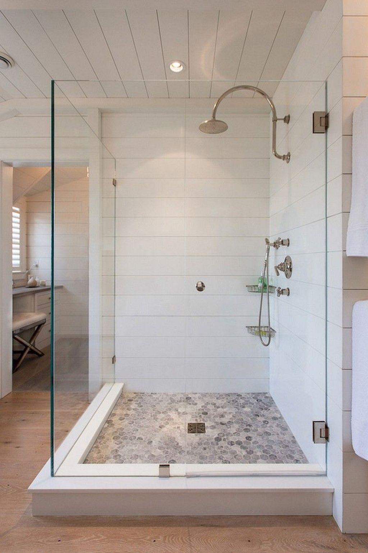 20 Astonishing Farmhouse Shower Tile Decor Ideas To Try
