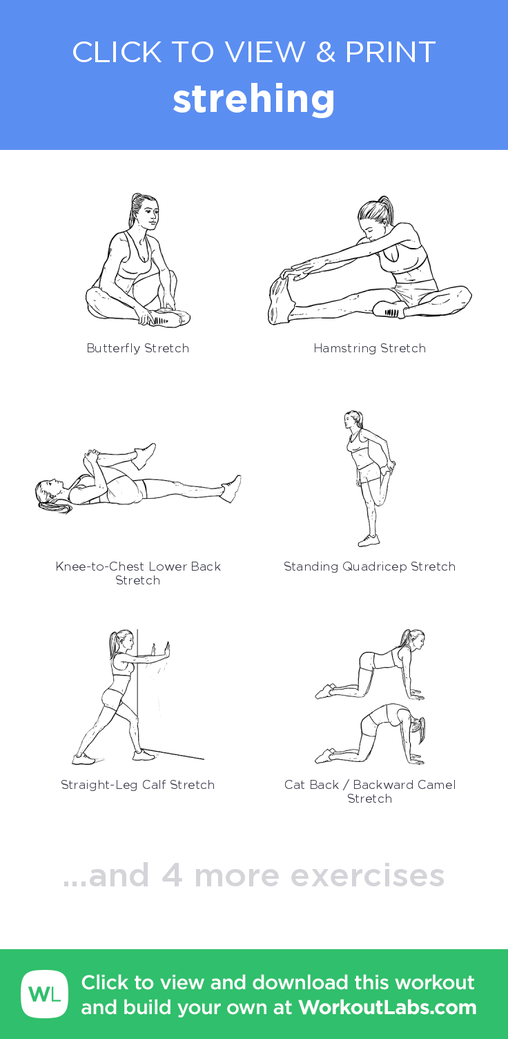 strehing u click to view and print this illustrated exercise plan