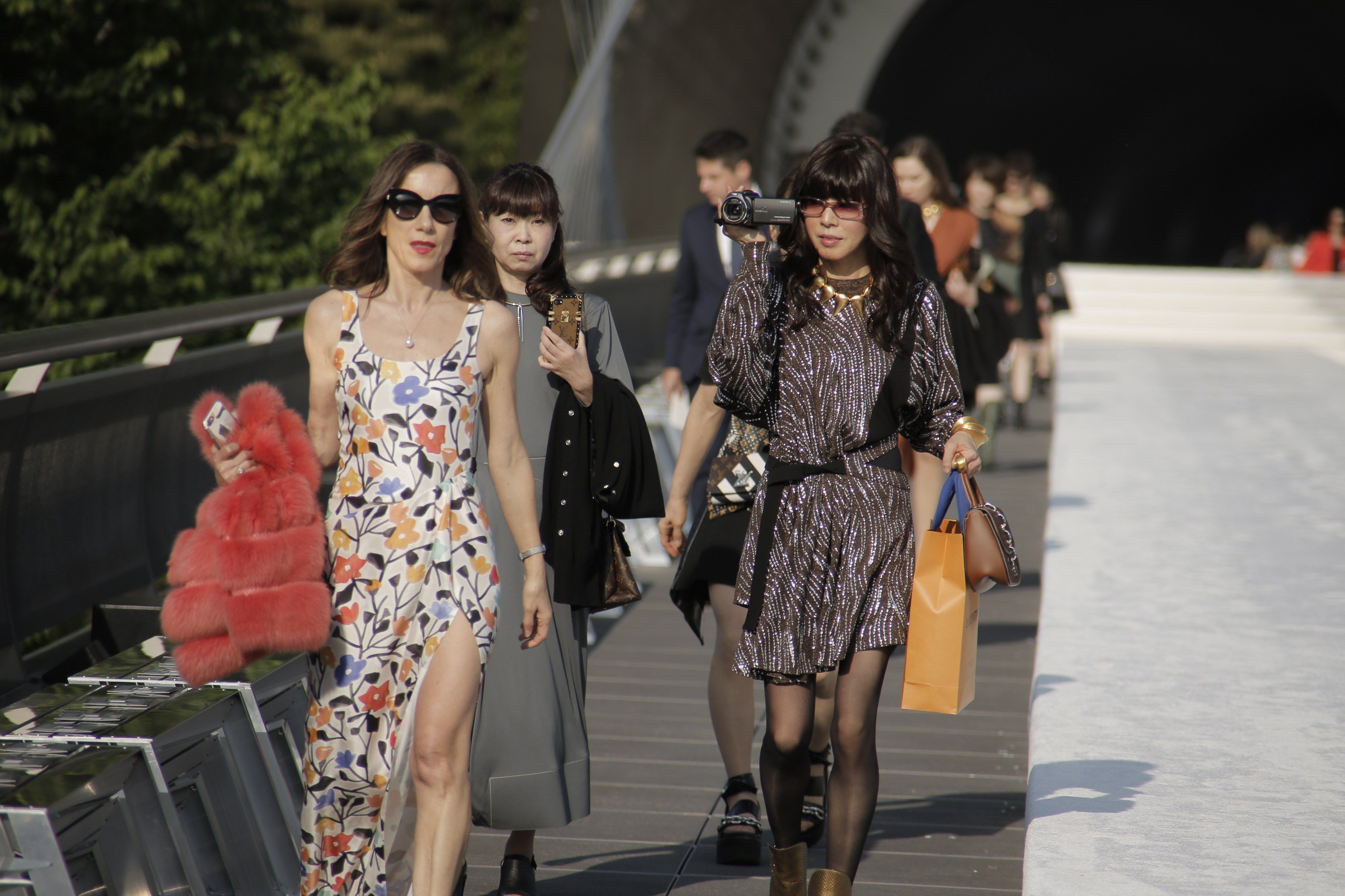 Inside Louis Vuitton's Lush Kyoto Show, From the Front Row to the Geis Photos | W Magazine