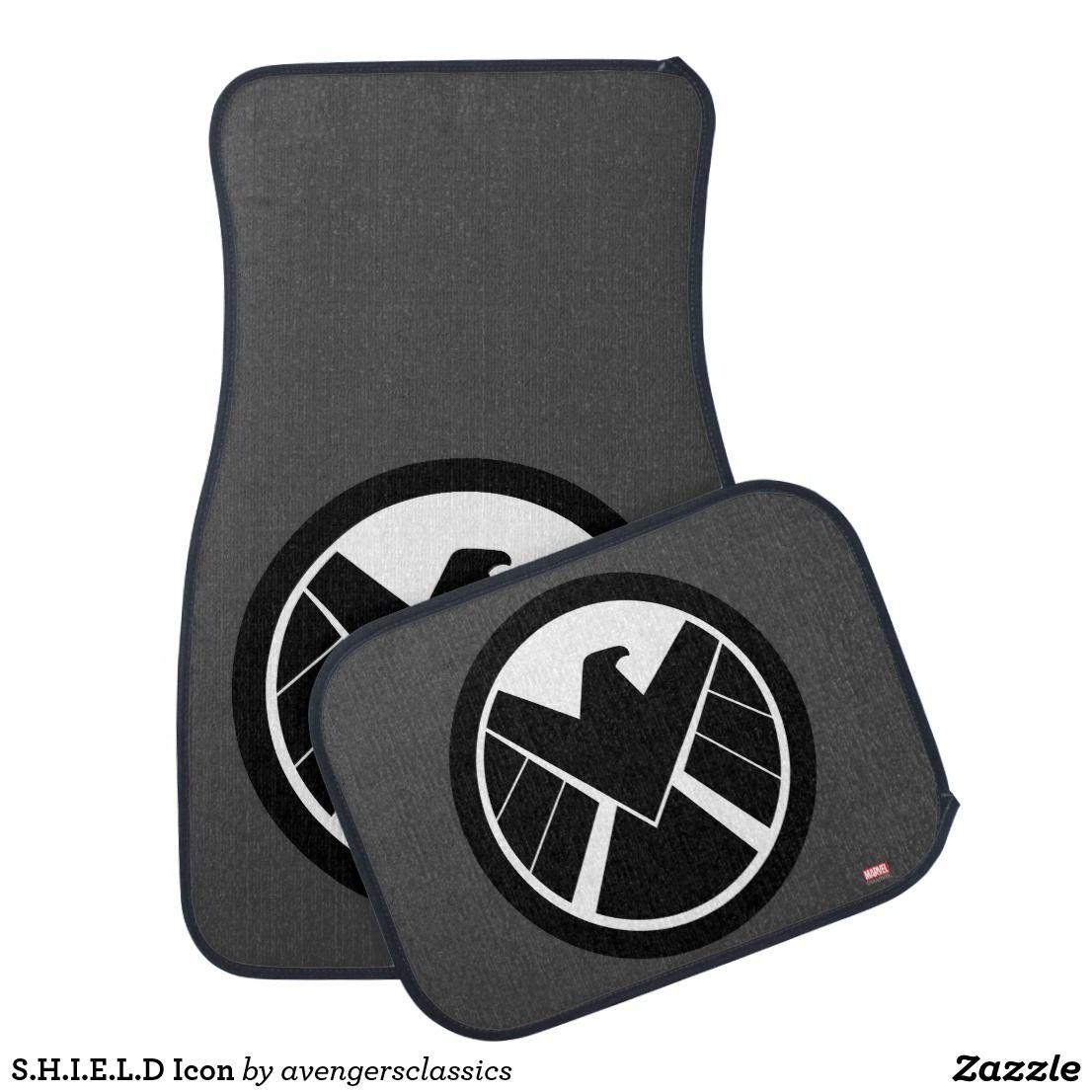 S.H.I.E.L.D Icon Car Mat Car icons, Shield