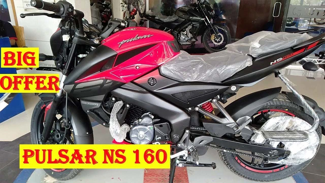 Special Offer In New Bajaj Pulsar NS160 2019 Model | Big